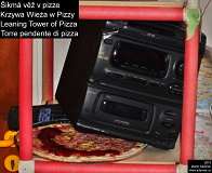Leaning Tower in Pizza (hifi tower in pizza)